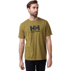 Helly Hansen HH Logo Camiseta Hombre, uniform green melange